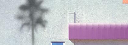 La photographie architecturale en version géométrique et pastel